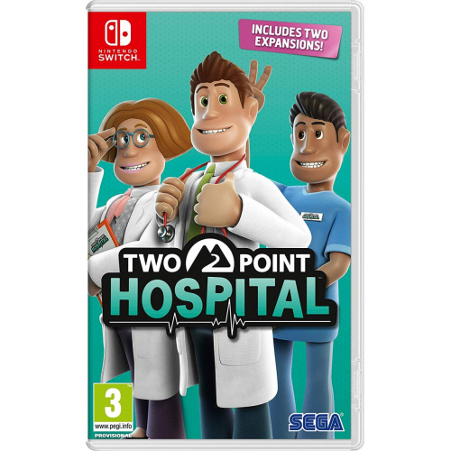 Nintendo Switch Two Point Hospital 雙點醫院 [中英文版]